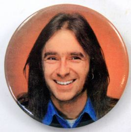 Status Quo - 'Francis Rossi' New Large Button Badge